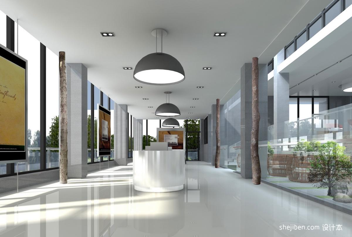写字楼大厅设计 (4/9)图片