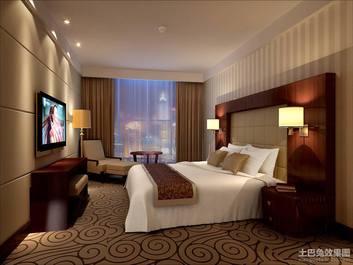 酒店套房卧室效果图装修效果图 第7张 家居图库 九正家居网高清图片
