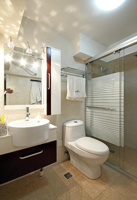 小户型卫生间装修效果图片