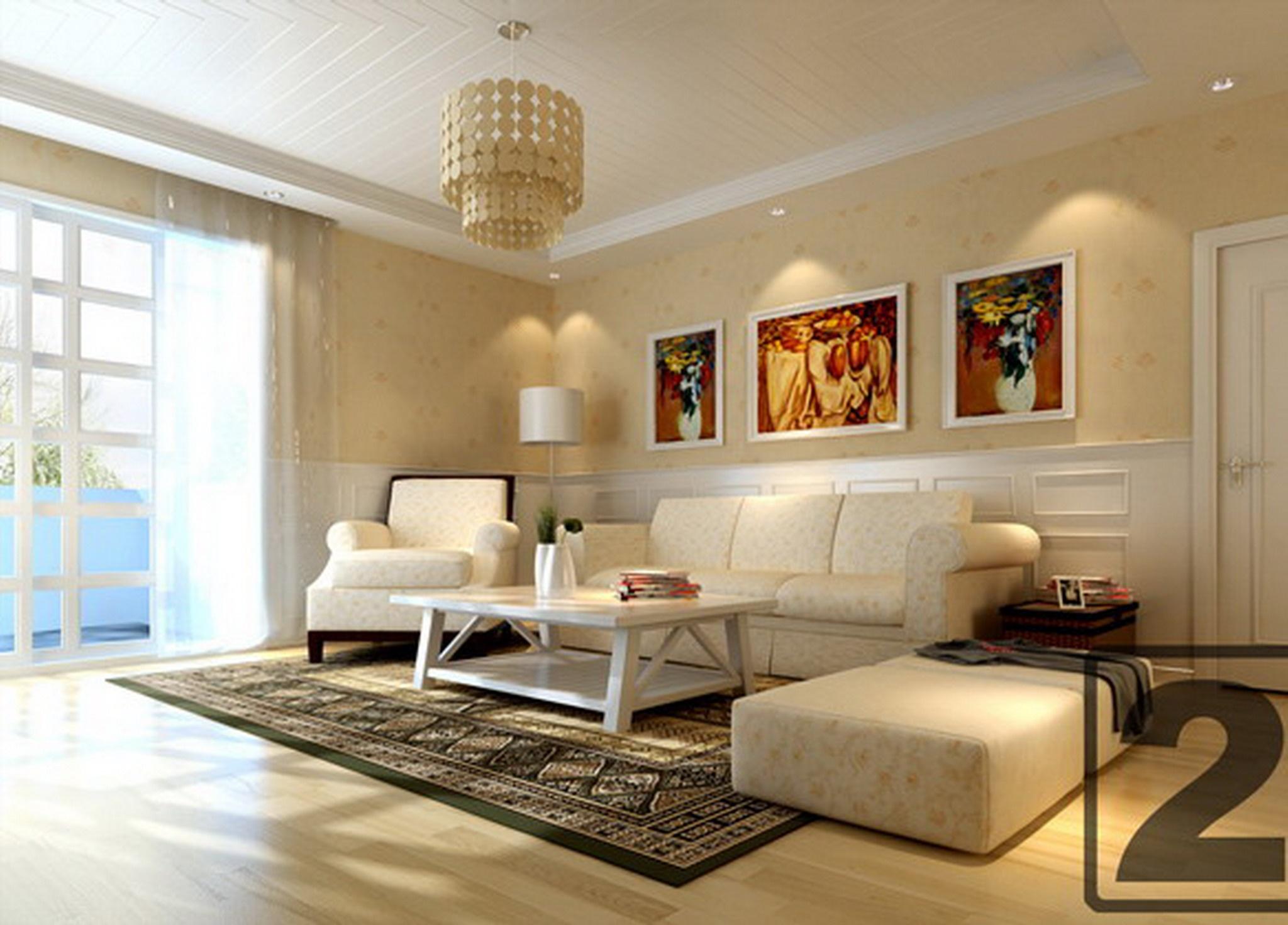 客厅吊顶装修设计效果图装修效果图