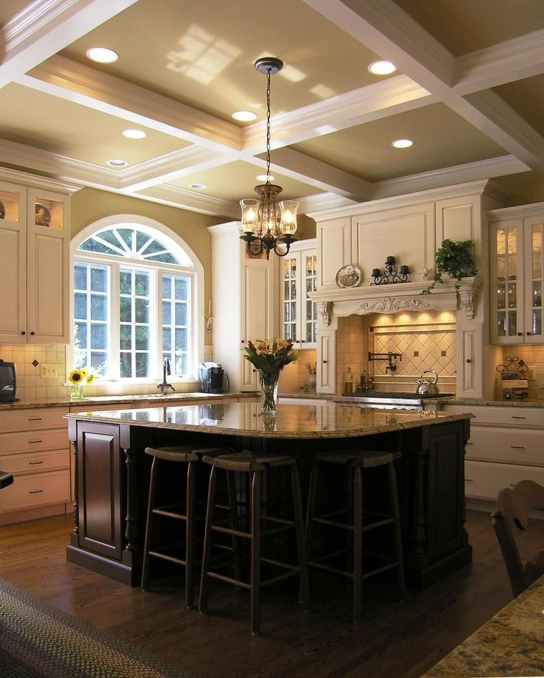 欧式厨房吧台装修效果图装修效果图 第2张 家居图库 九正家居网图片