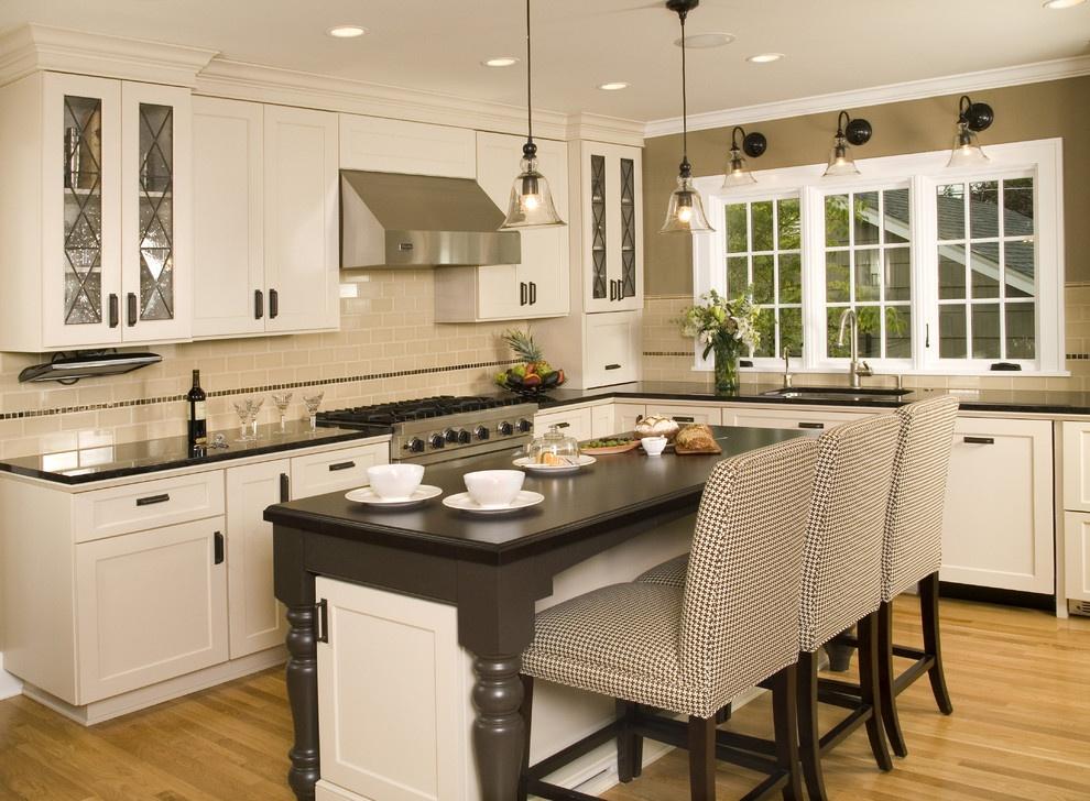 最新开放式厨房吧台装修效果图 (5/7)图片