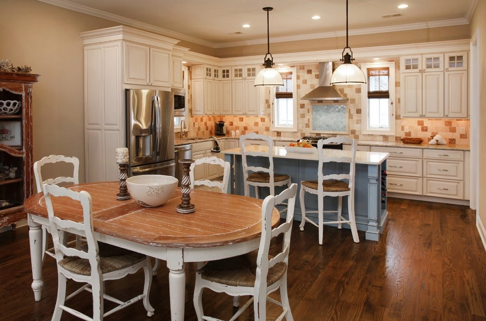 欧式开放式厨房装修图片欣赏装修效果图