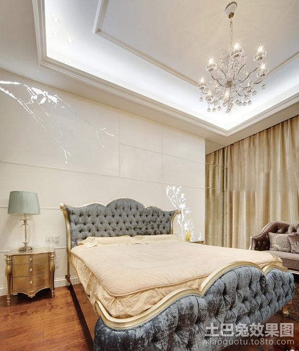 欧式卧室装修设计图欣赏装修效果图