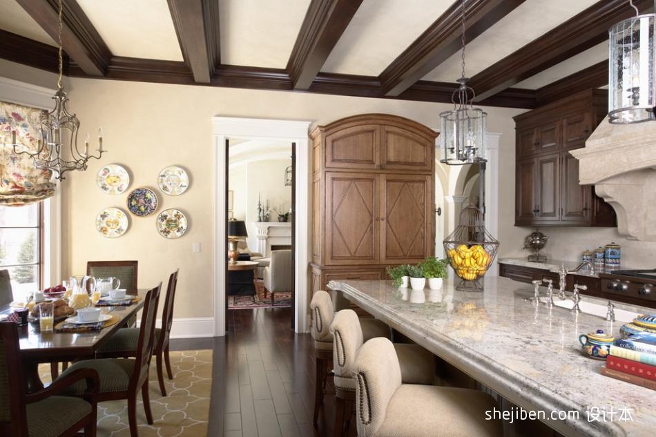 别墅厨房图片大全装修效果图