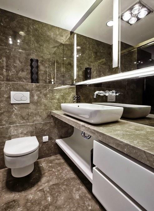 最新现代简约小卫生间装修效果图