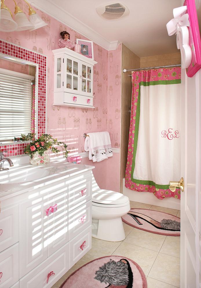 小卫生间浴帘图片