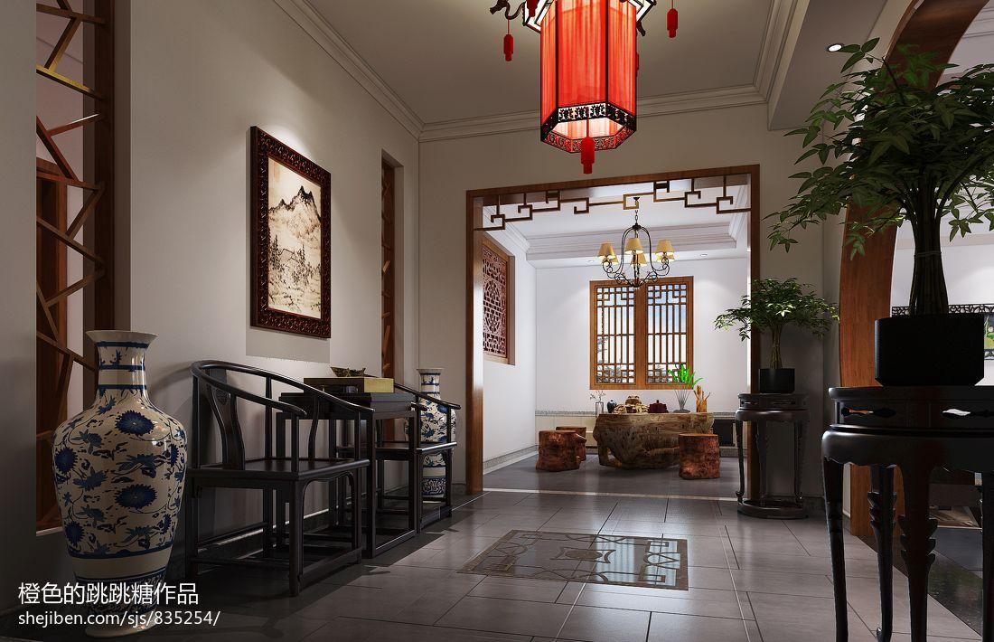 中式客厅装修设计 (2/4)