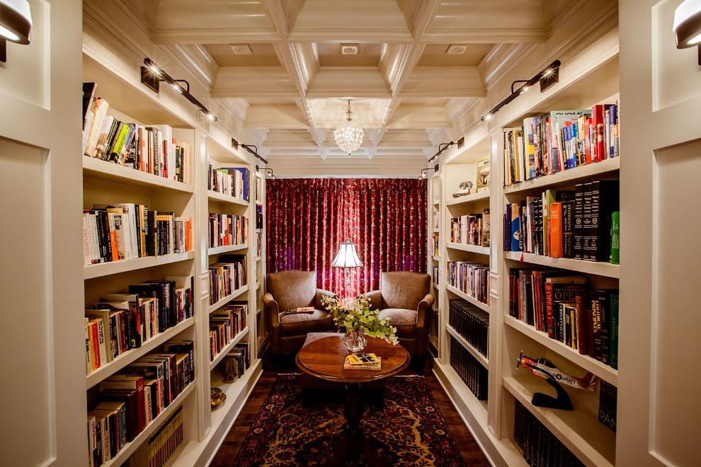 最新欧式书房吊顶装修效果图装修效果图