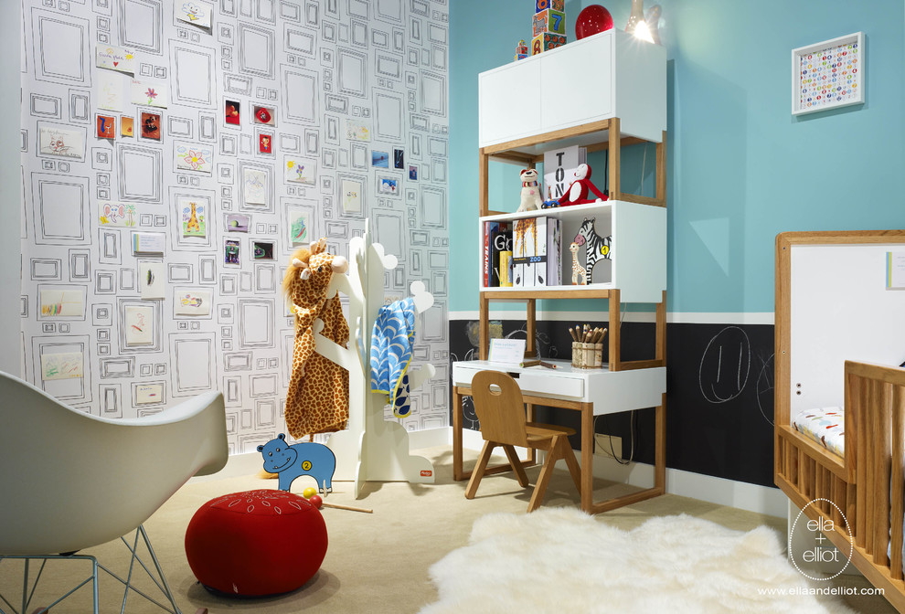兒童房間手繪裝修效果圖大全2013圖片 (7/10)