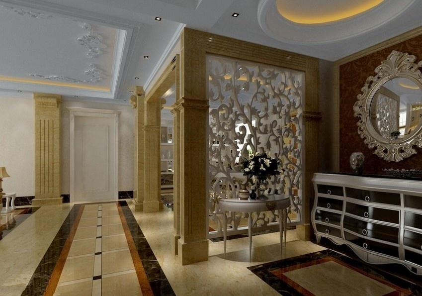 最新欧式客厅隔断装修效果图欣赏装修效果图