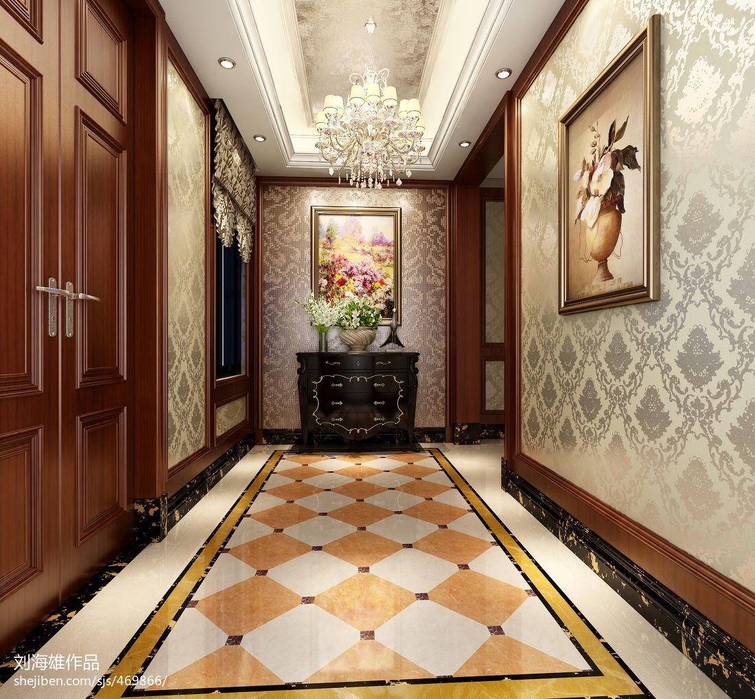 家居图库 中式别墅客厅吊顶效果图 > 第1张图片