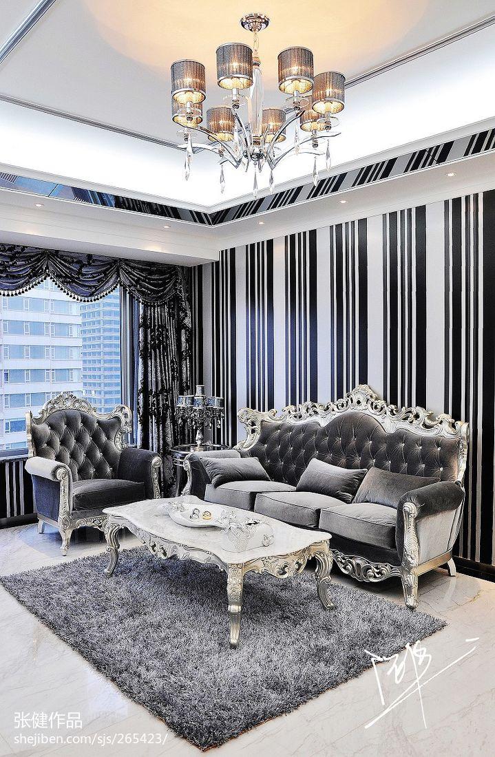 欧式别墅图片大全客厅装修效果图