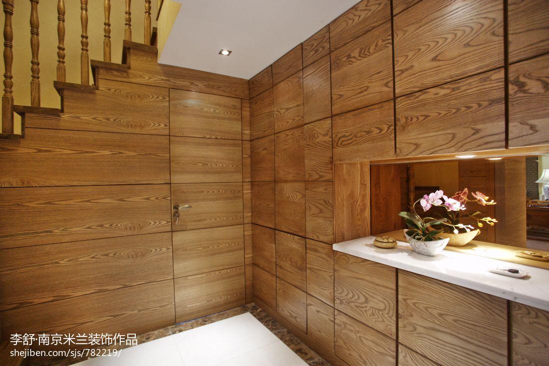 家居图库 新中式别墅客厅装饰装潢效果图 > 第9张