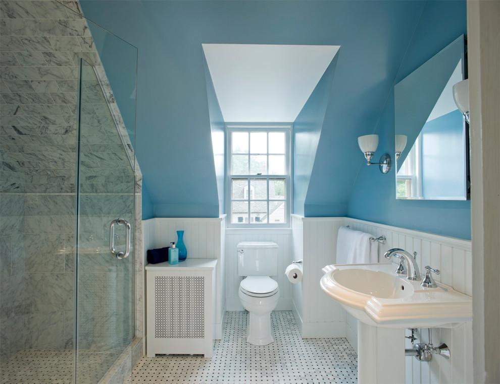 阁楼卫生间洗手台装修设计图 (2/5)