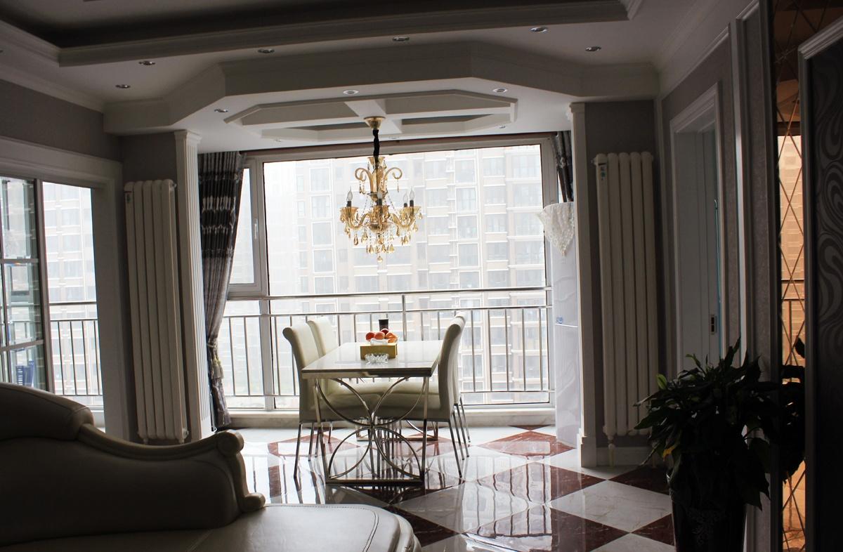 欧式风格餐厅吊顶装潢效果图装修效果图