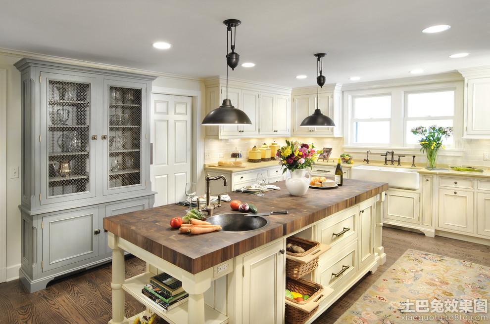 欧式开放式厨房吊顶装修效果图大全装修效果图