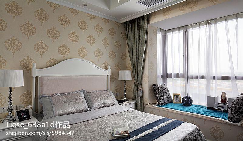 欧式卧室飘窗装修效果图大全2013装修效果图