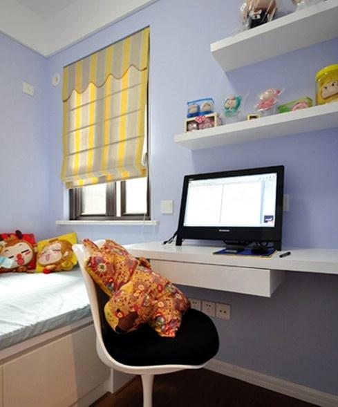 现代风格书房电脑桌设计效果图装修效果图 第6张 家居图库 九正家居网高清图片