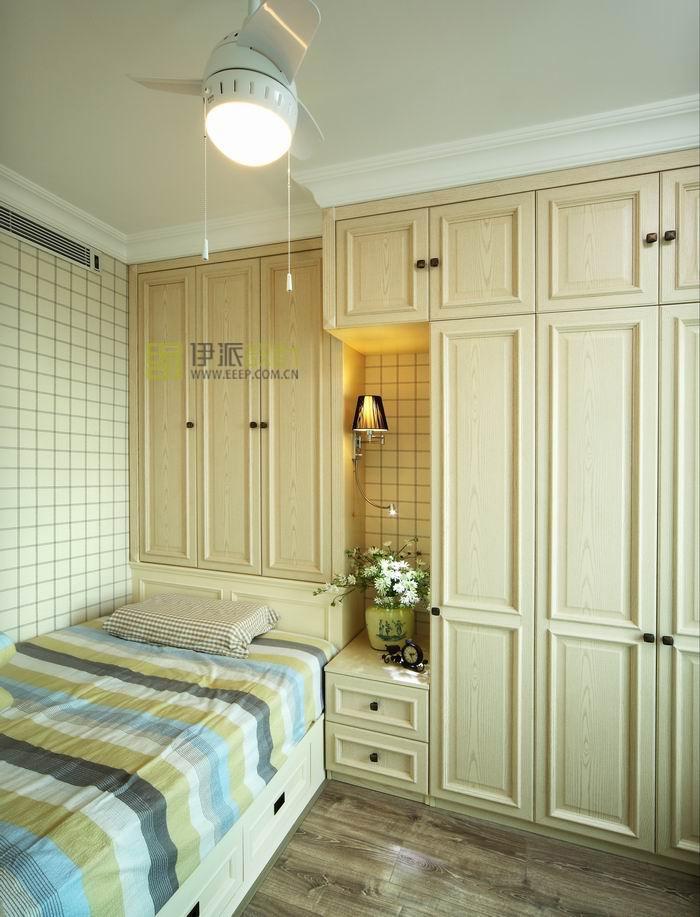 欧式田园小卧室柜子效果图装修效果图