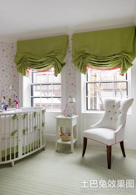 欧式风格婴儿房装修效果图欣赏装修效果图