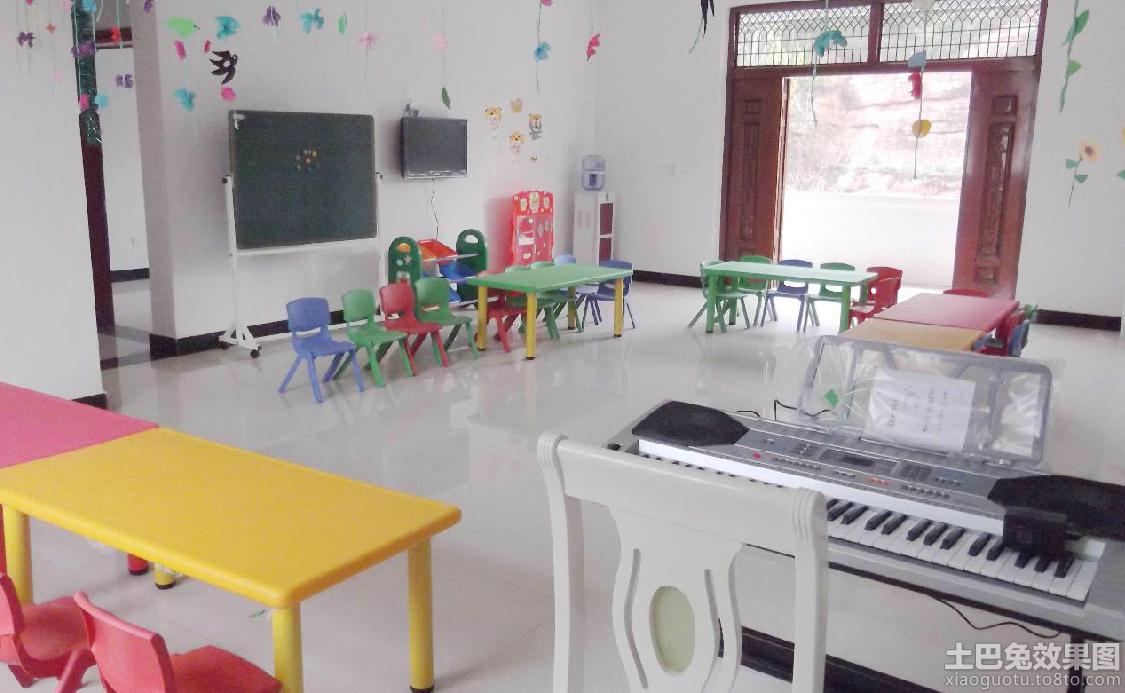 园中班环境布置装修效果图 第5张 家居图库 九正家居网