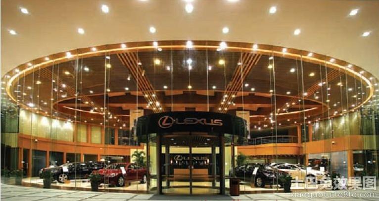 汽车4s店展厅布置装修效果图 第10张 家居图库 九正家居网