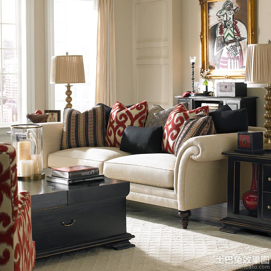 欧式风格客厅美克美家家具沙发图片 (2/8)