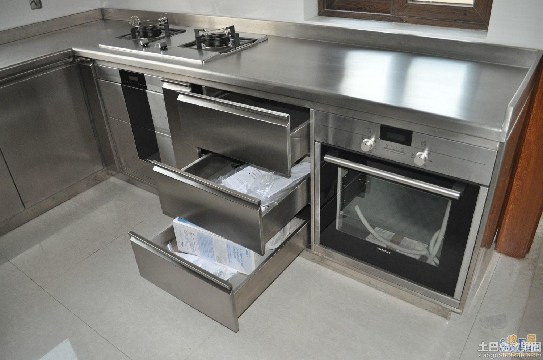 厨房不锈钢台面效果图欣赏装修效果图 第10张 家居图库 九正家居网高清图片