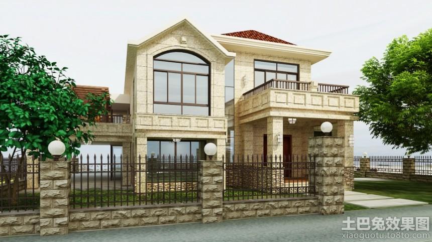 二层小型别墅设计图片大全装修效果图 第2张 家居图库 九正家居网