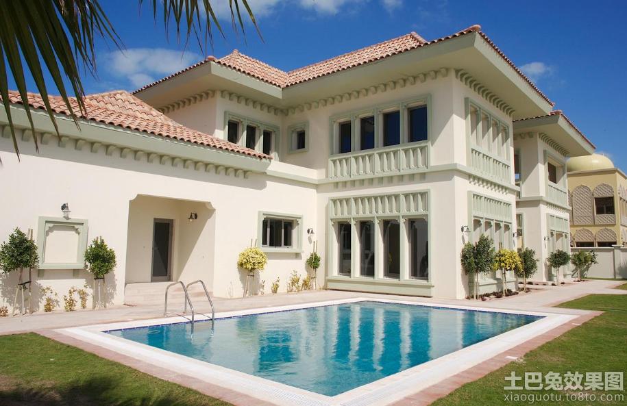 欧式风格二层别墅设计效果图装修效果图