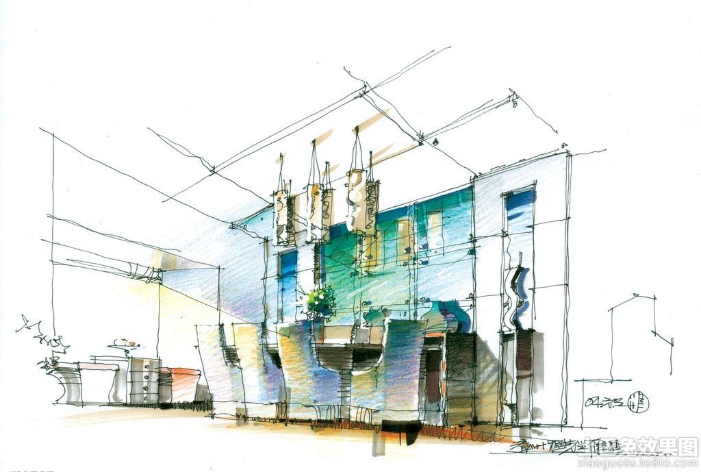 家庭餐厅手绘设计图装修效果图_第9张 - 家居图库