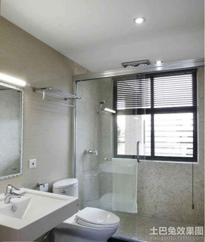 复式卫生间浴室门图片_第7张 - 九正家居装修效果图