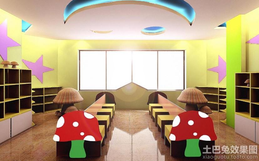 幼儿园室内窗户装饰图片装修效果图