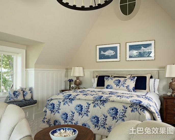 卧室欧式木墙裙效果图装修效果图