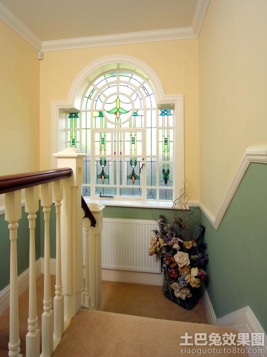 欧式墙裙楼梯效果图装修效果图 第2张 家居图库 九正家居网