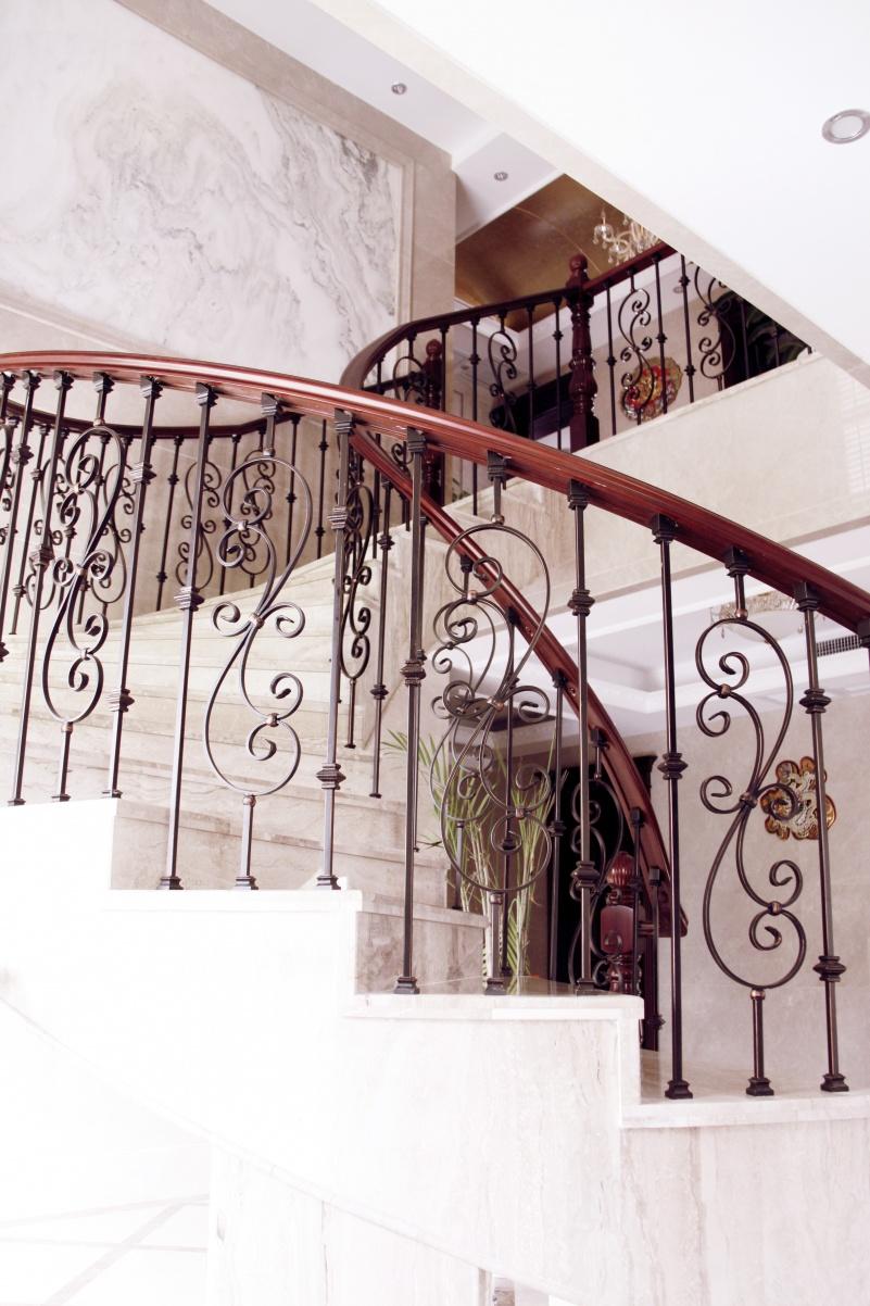 别墅楼梯栏杆装修效果图装修效果图