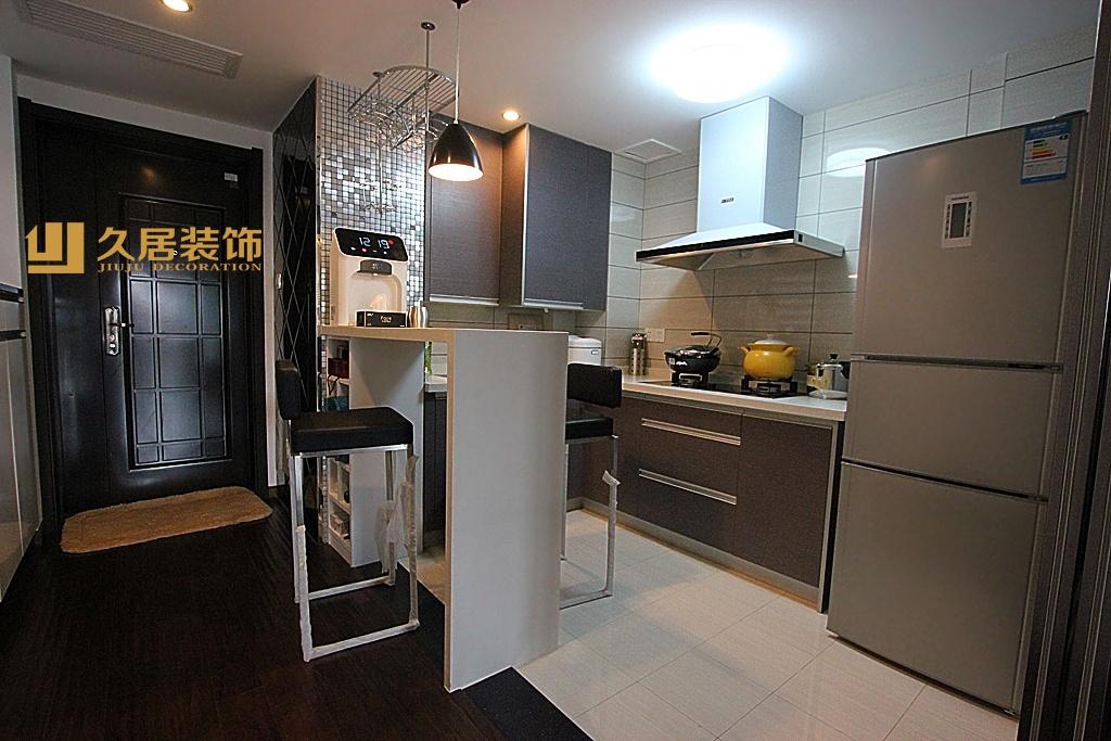 家居图库 现代风格50平米小户型仿古砖电视背景. > 第5张