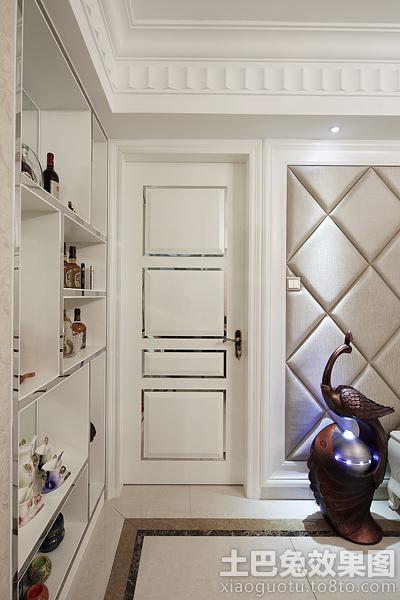 白色欧式卧室门装修效果图装修效果图