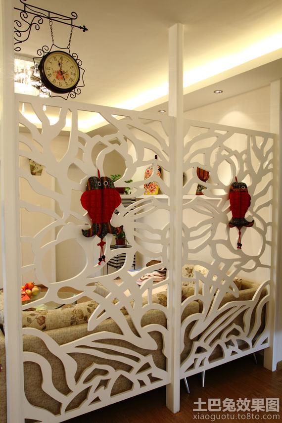 室内雕花镂空隔断效果图片_第4张 - 九正家居装修效果