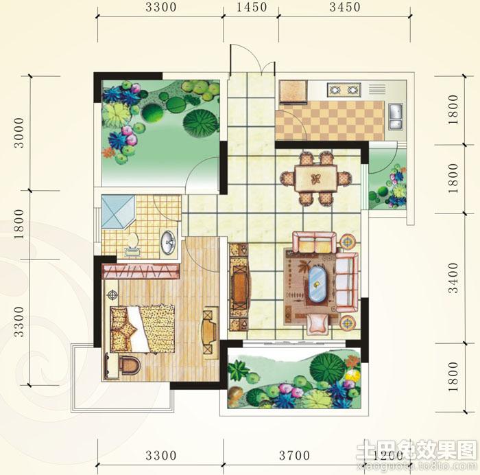 小户型房屋设计平面图欣赏装修效果图_第7张 - 家居