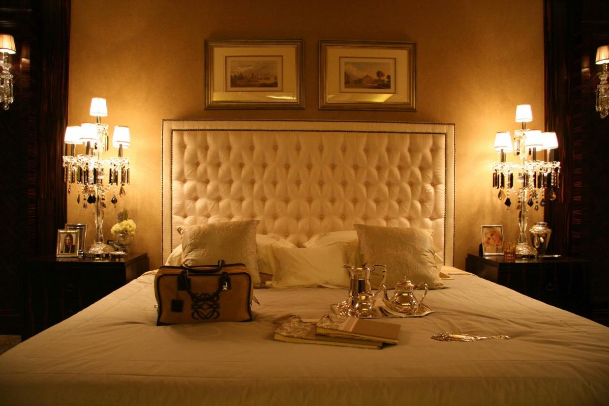 卧室床头软包效果图