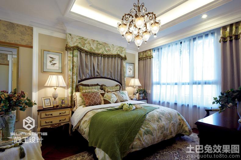 卧室欧式吊灯图片欣赏装修效果图