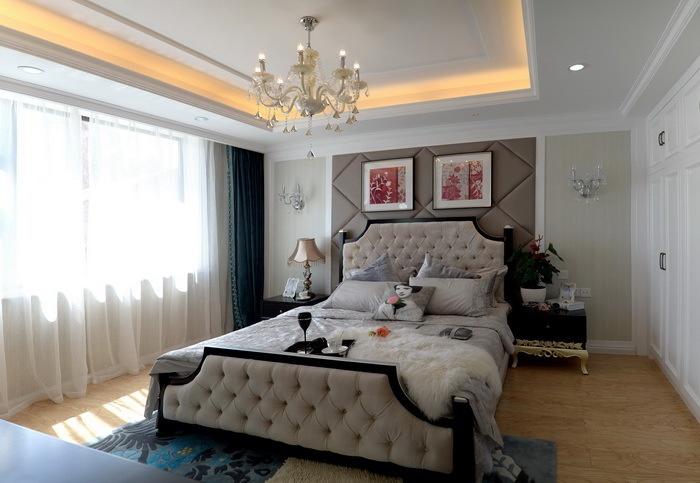 主卧室吊顶灯造型设计装修效果图