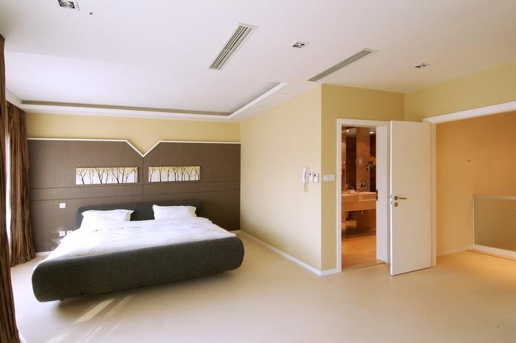 现代风格别墅主卧室装修效果图装修效果图 第6张 家居图库 九正家居网