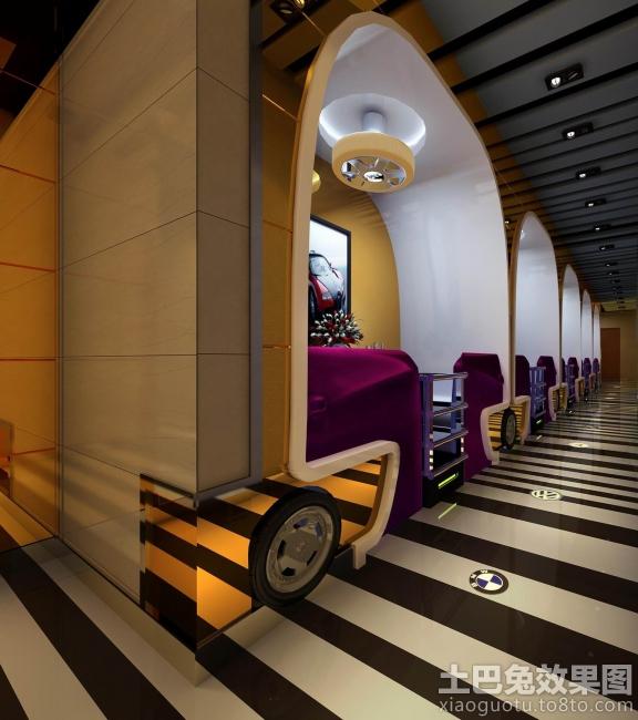汽车主题餐厅设计装修效果图