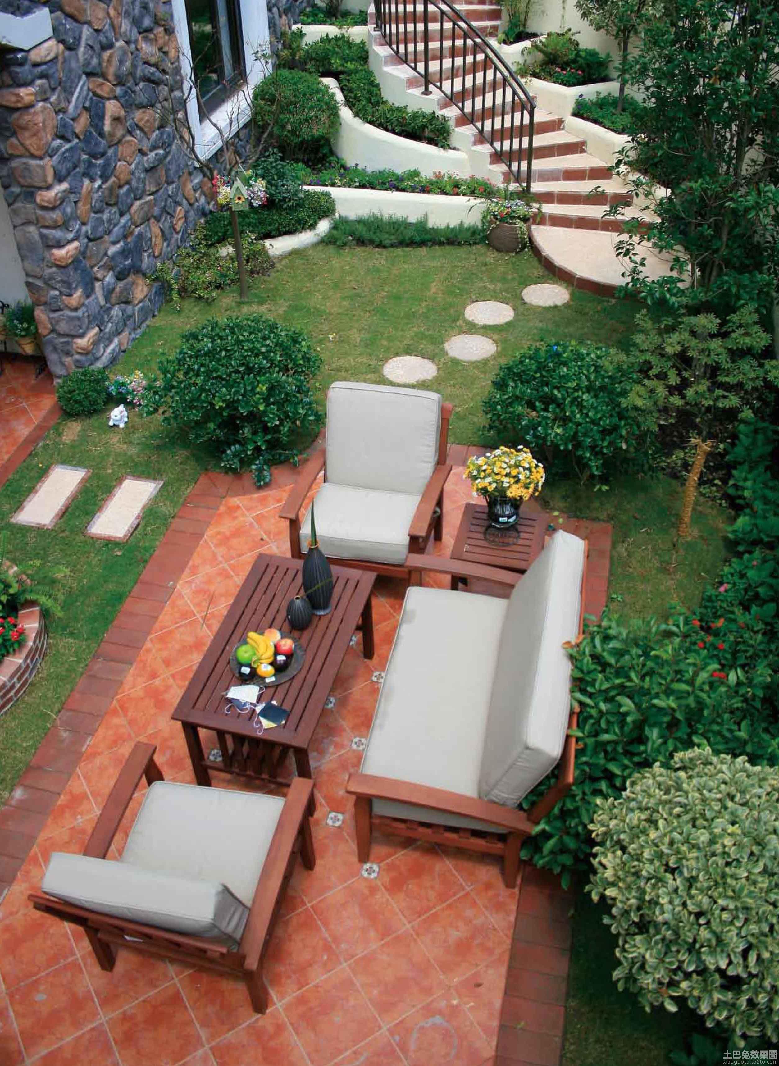 中式私家庭院景观设计装修效果图 第11张 家居图库 九正家居网