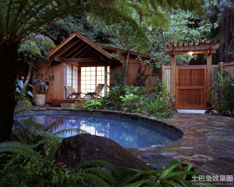 日式庭院景观效果图片欣赏