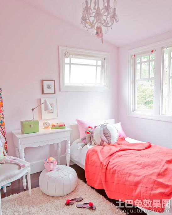 温馨欧式儿童房布置效果图装修效果图