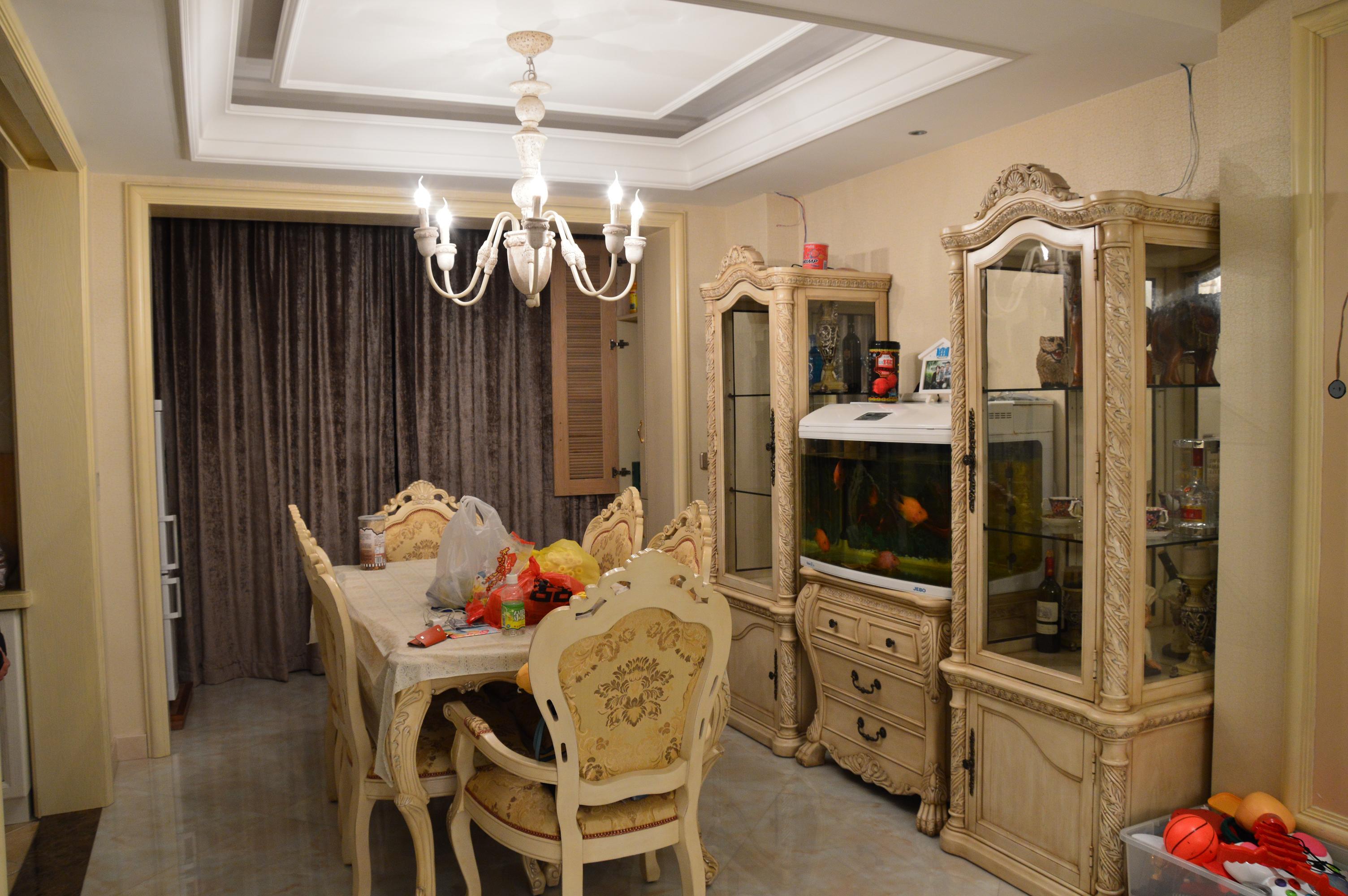 家居图库 欧式田园风格小户型客厅装修效果图片 > 第4张